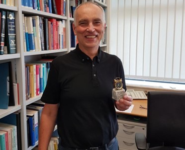 Der Gewinner des goldenen Weckers im Wintersemester 2017/ 2018
